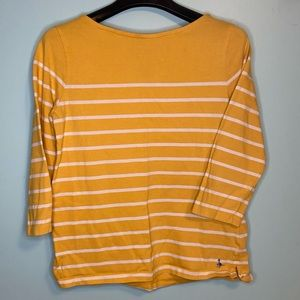 Jack Wills Yellow Boatneck Knit Top 6